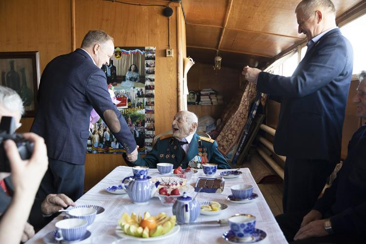 Ветерану Великой Отечественной войны исполнилось 105 лет