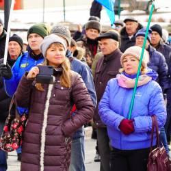 Около 150 человек пришли поддержать возвращение льгот для жителей Дальнего Востока #11