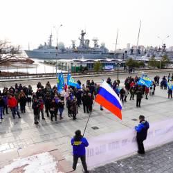 Около 150 человек пришли поддержать возвращение льгот для жителей Дальнего Востока #21