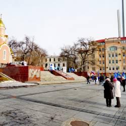 Около 150 человек пришли поддержать возвращение льгот для жителей Дальнего Востока #31